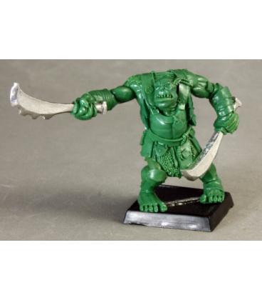 Warlord: Kargir - Black Orc Warbringer (green master sculpt)