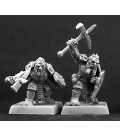Warlord: Mercenaries - Dark Dwarf Warriors Adept