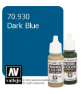 Vallejo Model Color: Dark Blue (17ml)