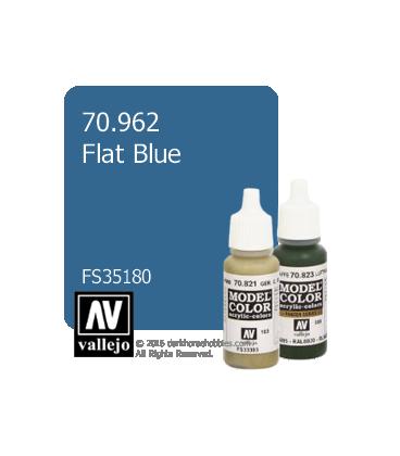 Vallejo Model Color: Flat Blue (17ml)