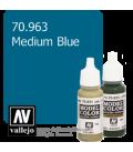 Vallejo Model Color: Medium Blue (17ml)
