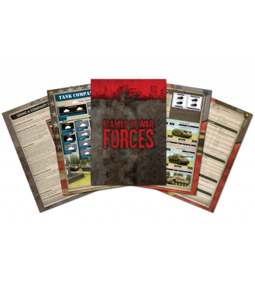 Flames Of War (WWII): 3rd Edition Rulebook (Bundle) [Forces Book]