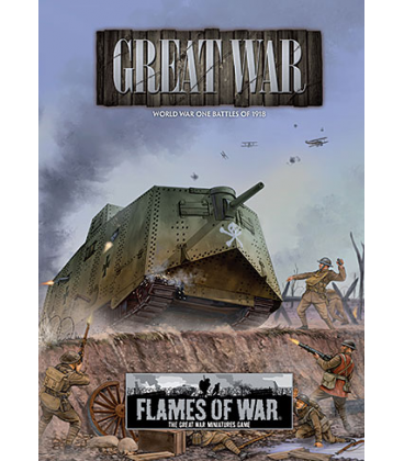 Flames Of War (Great War): World War One Battles Of 1918