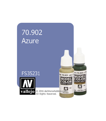 Vallejo Model Color: Azure (17ml)