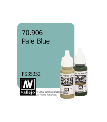 Vallejo Model Color: Pale Blue (17ml)