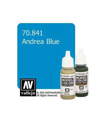 Vallejo Model Color: Andrea Blue (17ml)