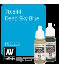 Vallejo Model Color: Deep Sky Blue (17ml)