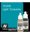 Vallejo Model Color: Light Turquoise (17ml)