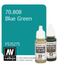 Vallejo Model Color: Blue Green (17ml)
