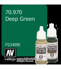 Vallejo Model Color: Deep Green (17ml)