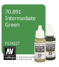 Vallejo Model Color: Intermediate Green (17ml)