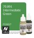 Vallejo Model Color: Intermediate Green (17ml)