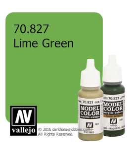 Vallejo Model Color: Lime Green (17ml)