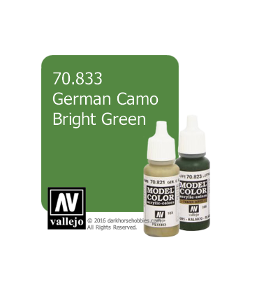 Vallejo Model Color: German Camo Bright Green (17ml)