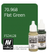 Vallejo Model Color: Flat Green (17ml)