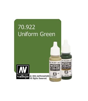 Vallejo Model Color: Uniform Green (17ml)