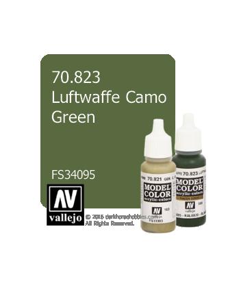 Vallejo Model Color: Luftwaffe Camo Green (17ml)