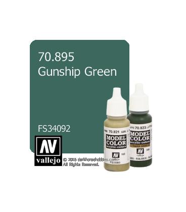 Vallejo Model Color: Gunship Green (17ml)