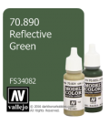 Vallejo Model Color: Reflective Green (17ml)
