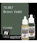 Vallejo Model Color: Brown Violet (17ml)