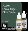 Vallejo Model Color: Camouflage Olive Green (17ml)