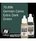 Vallejo Model Color: German Camo Extra Dark Green (17ml)