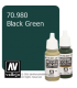 Vallejo Model Color: Black Green (17ml)