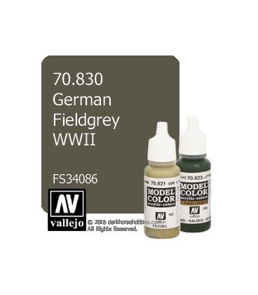 Vallejo Model Color: German Fieldgrey WWII (17ml)