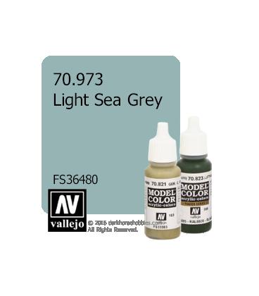 Vallejo Model Color: Light Sea Grey (17ml)