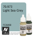 Vallejo Model Color: Light Sea Grey (17ml)
