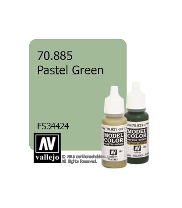 Vallejo Model Color: Pastel Green (17ml)