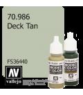 Vallejo Model Color: Deck Tan (17ml)