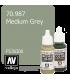 Vallejo Model Color: Medium Grey (17ml)