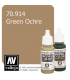 Vallejo Model Color: Green Ochre (17ml)
