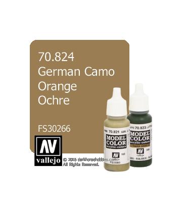 Vallejo Model Color: German Camo Orange Ochre (17ml)
