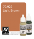 Vallejo Model Color: Light Brown (17ml)
