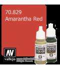 Vallejo Model Color: Amarantha Red (17ml)