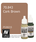 Vallejo Model Color: Cork Brown (17ml)