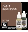 Vallejo Model Color: Beige Brown (17ml)