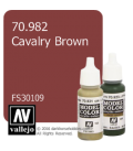 Vallejo Model Color: Cavalry Brown (17ml)