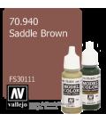 Vallejo Model Color: Saddle Brown (17ml)