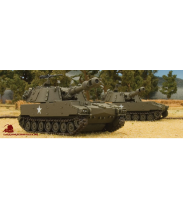 Flames of War (Vietnam): American M109 Self-Propelled 155mm Howitzer Section
