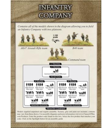 Flames of War (Vietnam): PAVN Infantry Company