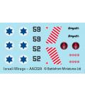 Flames Of War (Arab-Israeli): Israeli Shahak (Mirage III CJ)