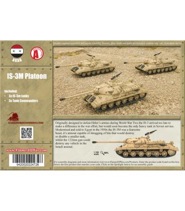 Flames Of War (Arab-Israeli): Arab IS-3M Platoon