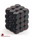 Chessex: Opaque 12mm d6 Black/Red dice set (36)