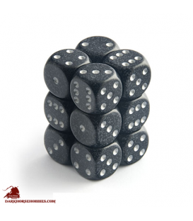 Chessex: Speckled 16mm d6 Ninja dice set (12)