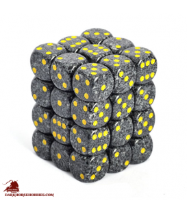Chessex: Speckled 12mm d6 Urban Camo dice set (36)