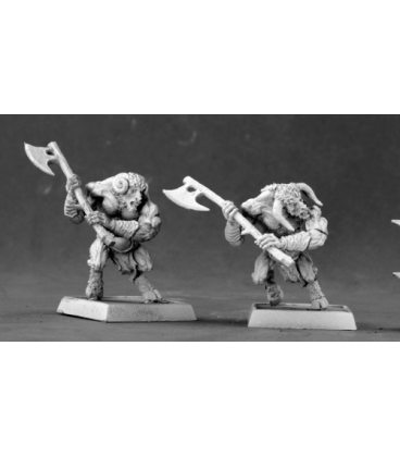 Warlord: Timbrithil/Elves - Elven Satyr Warriors Box Set