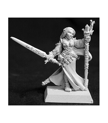 Warlord: Elves - Lysette, Elven Mage